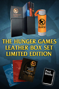 THE HUNGER GAMES LEATHER BOX SET LIMITED EDITION
